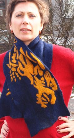 Custom Dragon scarf Reserved for jadestarII in by RowanTreeShop