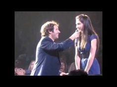 Josh Groban Picks a Girl From the Audience to Sing a Duet...And She Nails It!