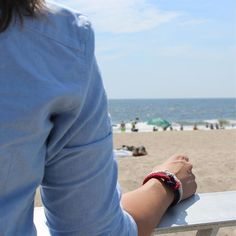 We can hitch a ride to Rockaway Beach.. #summerstyle #preppy #jewelry #bracelet…