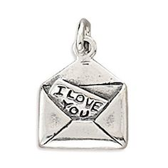 $16.95 Charm measures 15x13mm .925 Sterling Silver