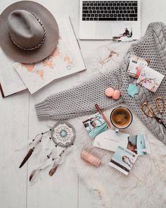 Just another insta flatlay. Travel Flatlay, Shiseido, Sweater Weather, Boho, Creative, Beautiful, Product Photography, Instagram, Inspire