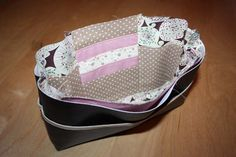 The tutorial of my bag organizer. Best organizer tutorial I have found.use the translate button though, as this is in French My Bags, Purses And Bags, Sew Wallet, Diy Sac, Sacs Diy, Couture Sewing, Couture Bags, Purse Organization, Sewing Hacks