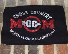 Items similar to Cross Country Mom Shirt / CC Mom / XC mom on Etsy Cross Country Shirts, Cross Country Running, Cross County, Sport Shirt Design, Sports Mom Shirts, Running Gifts, Spirit Wear, Flirt, Gifts For New Moms