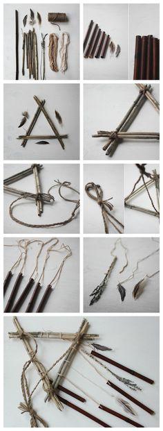 DIY interesantes campanas de viento que son fáciles de hacer
