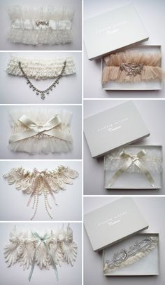 "Wow!! These are pretty gorgeous! How fun to do something ""old"" with vintage laces/jewels"