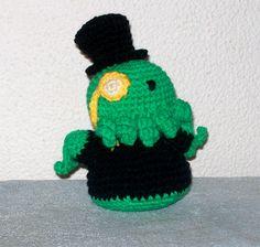 Why crochet top hats? Why NOT crochet top hats?!