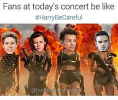 For real. #HarryBeCareful
