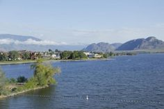 View of the lake from our bedroom, Holiday inn Hotel & Suites  |  7906 Main Street , Osoyoos, Br