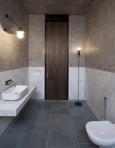 #bathroom design #door jamb detail - spasm design architects / house in deolali, maharashtra