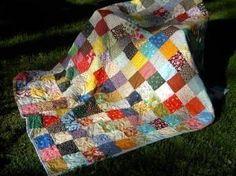 Quilt Patchwork Quilt81 X 81picnic size Classic