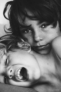 "/ Photo ""Portrait b"" by raquel lopez-chicheri Photography, black and… Kids Photography Boys, Sibling Photography, Amazing Photography, Portrait Photography, Little Boy Photography, Sweets Photography, Happy Photography, People Photography, Black And White Portraits"