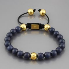 africa handmade shamballa bracelet with gold accessories blue beads // Price: $8.95 & FREE Shipping Worldwide //     #shoes #heels #styles #outfit #purse #jewelry #shopping #glam