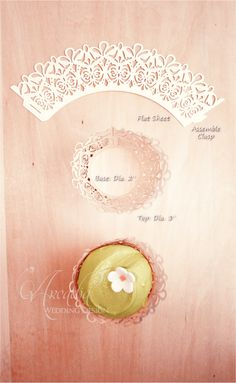 ~ Dessert Decor ~ Style: Romantic, Contemporary chic ; Item: Cupcake Wrapper: White Shimmer * Pearl ; Recipe: Paper, Damask pattern, Lace Silhouette; This cupcake wrapper could impress your party guests with elegant lace pattern and let you décor the cupcakes beautifully. https://www.etsy.com/listing/159675378/wedding-cupcake-wrapper-damask-lace?ref=shop_home_active