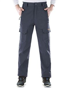 Nonwe Mens Warm Windproof Mountain Fleece Hiking Sweat Pants OT521700501XL -- To view further for this item, visit the image link.
