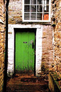 Green Door by Messiaen on Flickr