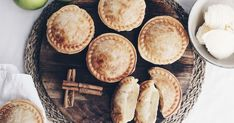 There's no need to share with these individual traditional apple pies that can be made in your pie maker. Serve them with a scoop of ice cream for a dessert you can't resist.