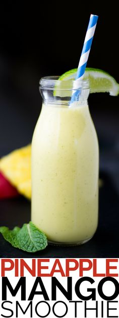 Our Thai-inspired Pineapple Smoothie adds mango, coconut milk and lime to highlight the tropical diversity of Thailand. Vegan