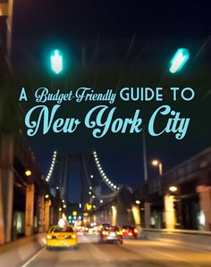 Want to see NYC?  It can be really expensive, but these budget friendly tips will be your guide to NYC