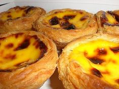 Made so many Portuguese egg tarts in my university days after I fell in love with them in Portugal in 2001 ! Source: http://biggestmenu.c...