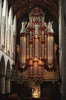 De orgel grote kerk