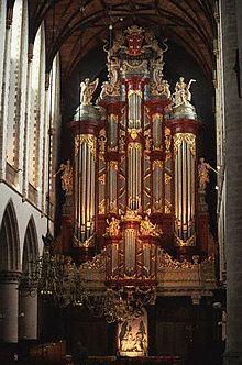 Pipe organ at Haarlem's Sint-Bavokerk ~ Haarlam, Amsterdam