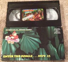 Video game trailers in the 90's