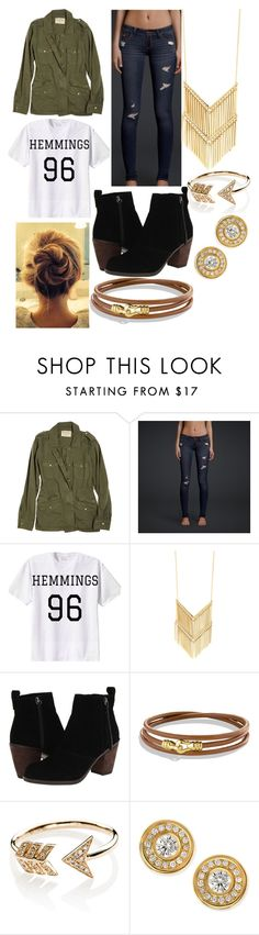 """""""??"""" by sherin316 ❤ liked on Polyvore featuring Velvet, Hollister Co., Dolce Vita, David Yurman, EF Collection and Roberto Coin"""