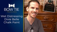 Chalk Paint Wet Distressing Demonstration on an antique Dresser using Di... Chalk Paint Dresser, Painted Dressers, Dry Well, The Creator, Antique, Painting, Painted File Cabinets, Painting Art, Paintings