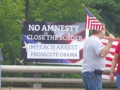 Americans protesting in Bootwyn PA Photo 3