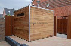 tuinhuis kubus ceder 250 x 250 ()