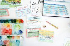 Greeting Card Stationery Set: Varsity Set of 8 Cards