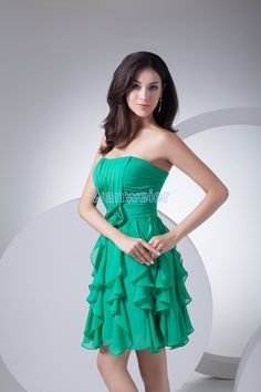 826e9b20c22 free shipping 2013 new design chiffon plus size hot seller brides maid dress  formal gown mint green short Bridesmaid Dresses-in Bridesmaid Dresses from  ...
