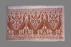 Fragment  Date: 16th century  Culture: Italian, Sicily  Medium: Linen  Dimensions: L. 20 x W. 24 inches (50.8 x 61 cm)  Classification: Textiles-Embroidered  Accession Number: 08.48.127