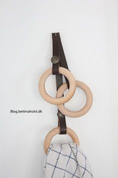 Blog Bettina Holst - DIY wall hanger + tutorial
