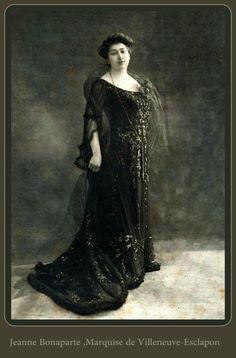 Jeanne Bonaparte;Marquise de villeneuve