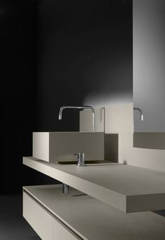 Round, square, curvy or sharp corners; these are the distinguishing features of the newest designer washbasins on the market. See more on --> http://magazine.designbest.com/en/inspiration/bathroom/12-new-designer-washbasis-by-cersaie/?utm_source=12-new-designer-washbasis-by-cersaie&utm_medium=pinterest&utm_campaign=SOCIAL-activities |