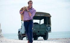 Ben Fogle with Land Rover Defender