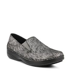 Spring Step Women's Manila Wide Slip Resistant Slip On Shoes (Silver Mercury) #ClogsShoesSlipOn