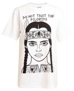 TED'S DRAWS | Unisex Christina Ricci Printed Cotton T-Shirt
