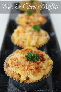 Looking for an Easy Snack for the kids? These Mac & Cheese Muffins are delicious and so easy to make. Made with sharp cheddar cheese, milk and panko breadcrumbs. Will be ready in 20 minutes! - A Spark of Creativity Mac And Cheese Muffins, Mac Cheese, Mac And Cheese Cupcakes, Cheddar Cheese, Cheese Recipes, Appetizer Recipes, Cooking Recipes, Appetizers, Muffin Tin Recipes