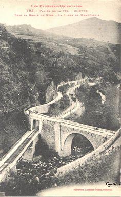 Olette (Pyrénées-Orientales) Villefranche, Madame, Tour, Rockabilly, Movies, Movie Posters, Antique Post Cards, Films, Film Poster
