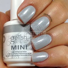 Gelish The Big Chill - swatch by Chickettes.com