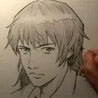 A Realistic Manga Face