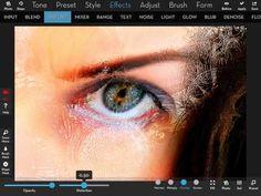 IColorama distort effect - YouTube by Brad Stefanov