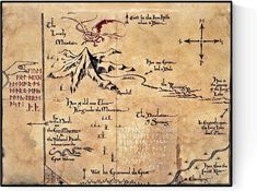 Amazon.com: Thorin's Map of The Lonely Mountain   Lord of The Rings and The Hobbit HQ Art Print (16x20): Posters & Prints Tolkien Drawings, The Hobbit Map, Tolkien Map, Lord Of The Rings Tattoo, Middle Earth Map, Treasure Maps, Fantasy Literature, Fantasy Map, Map Design