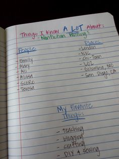 Life is Better Messy Anyway: A Peak Into My Writer's Notebook