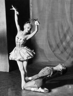 Vera Nemchinova and Anton Dolin in Rhapsody in Blue, 1928. Sasha / Getty Images