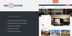 ThemeForest - Wedoor - Responsive Real Estate HTML Template  Free Download