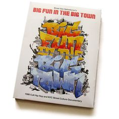 Big Fun in the Big Town, 1986 hip-hop doc released today for the first time in 25 years!