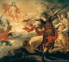 Juan de Valdes Leal - Saint Jerome being whipped by angels